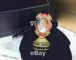 Estee Lauder Jay Strongwater Encadré Souvenirs Cadre Photo Parfum Solide Compact