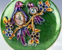 Estee Lauder Jay Strongwater Fleur Poudre Compacts (nib)