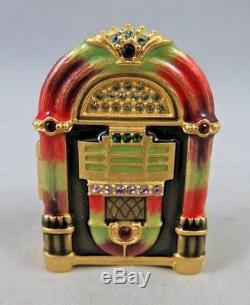 Estee Lauder Jay Strongwater Linge Blanc Jukebox Paré De Bijoux Parfum Solide Compact