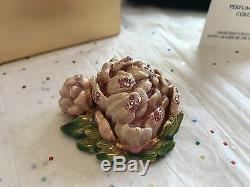 Estee Lauder Jay Strongwater Parfum Compact 08 Romantique Bloom Menthe Dans Boîte
