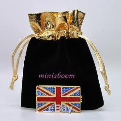 Estee Lauder Jeweled Flag Of Britain Parfum Solide Compact 2012 Harrods