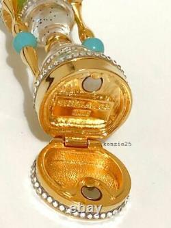 Estee Lauder Jeweled Hourglass Solid Parfum Compact 2019 Nwob