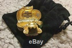 Estee Lauder Judith Leibber Parfum Chaton Parfum Solide Vide Compacte Très Rare