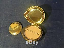 Estée Lauder Lady Bibi Poudre Compacte Lucidity Compact Avec Étui Et Boîte