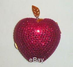 Estée Lauder Lady Pomme Rouge Cristaux Swarovski Or De Collection Poudre Compacte