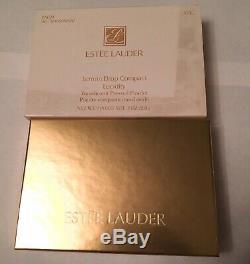 Estee Lauder Lemon Drop Compact Lucidité Poudre Nouveau Dans Rare! 1 Oz