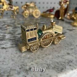 Estee Lauder Limited Edition Antique Train Sensous Compact Solid Parfum 2003