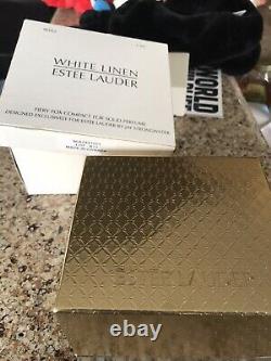 Estee Lauder Linge Blanc 2003 Fiery Fox Parfum Solide Compact Jay Strongwater