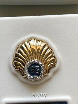 Estee Lauder Linge Blanc 25 Ans Shell Parfum Compact