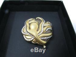 Estee Lauder Lucidité Compact Poudre 2002 Gold Sea Stars Diamants Octopus