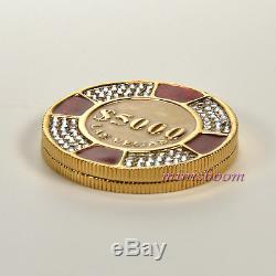 Estee Lauder Lucky Chip Compact Pour Parfum Solide 2007 Toutes Boites
