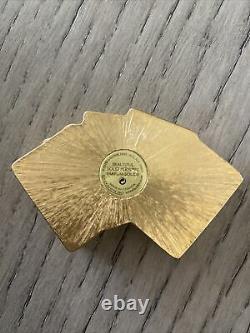 Estee Lauder Lucky Hand 2002 Solid Perfume Compact Gambler Poker Belle