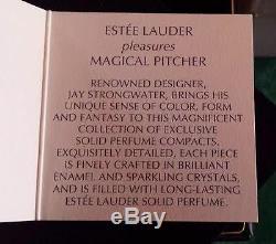 Estee Lauder Magique Pitcher Parfum Solide Par Jay Strongwater