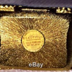 Estee Lauder Meow Black Cat Parfum Solide Compact Beau Parfum 1-1 / 4