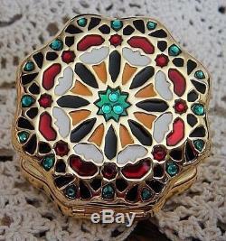 Estee Lauder Morocco Compact Poudre Compacte Mosaïque Neuve Neuf Rare Jamais Utilisé