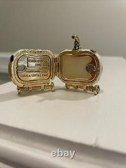Estee Lauder Off To The Ball Solid Perfume Compact 2018 New In Velvet Pouch