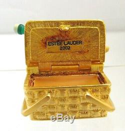 Estee Lauder Panier Pique-nique 2002 Parfum Solide Compact Belle