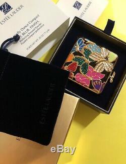 Estee Lauder Papillon Danse Compact 05 Translucide Poudre Pressée Le Nib 0,25 Oz