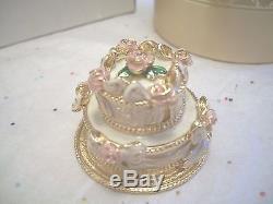 Estee Lauder Parfum Compact Gâteau De Fête Rare Mibb Magnifique