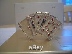 Estee Lauder Parfum Compact Rare 2002 Cartes Mains Chanceuses Mibb Gorgeous