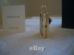 Estee Lauder Parfum Solide 2008 Compact Saks Fifth Avenue Shopper Mib Brillant