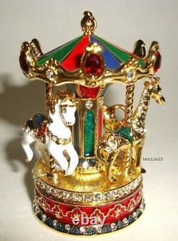 Estee Lauder Parfum Solide Carousel Compact 2018 Vide Ub