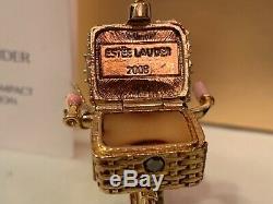 Estee Lauder Parfum Solide Compact / 2008, Vibrant Bike Ride, Extrêmement Rare