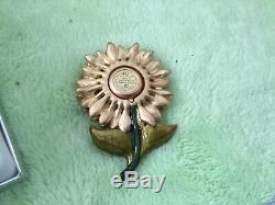 Estee Lauder Parfum Solide Compact Jay Strongwater Radiant De Tournesol 2 Boîtes