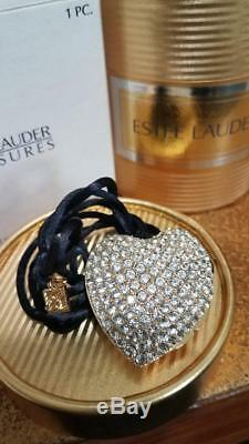 Estee Lauder Parfum Solide Compact Sparkling Collier Coeur Mibb
