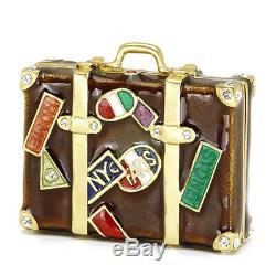 Estee Lauder Parfum Solide Compact World Traveler Dans Les Deux Boîtes