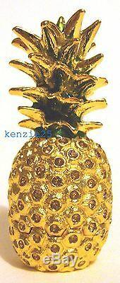 Estee Lauder Parfum Solide D'or Et D'ananas Compact 2015 Vide