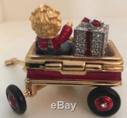 Estee Lauder Parfum Solide De Noël Wagon Compact 1999 Rare Et Difficile À Trouver