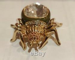 Estee Lauder Parfum Solide Jeweled Araignée Compact 2008