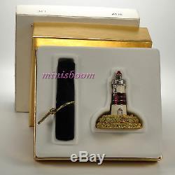 Estee Lauder Parfum Solide Phares Compact 2004 Jay Strongwater Nouveau Dans La Boîte