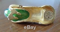 Estée Lauder Parfum Solide Precieux Paon Compact 2003 Original Box