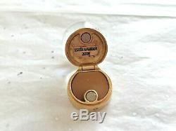 Estee Lauder Parfum Solide Snowman Compact Snow Globe Beyond Paradise 2005