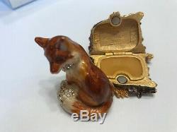 Estee Lauder Parfum Solide Strongwater Compact 2003 Fiery Fox Sib White Linen