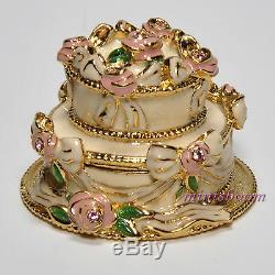 Estee Lauder Party Cake Collection Compact Pour Le Parfum Solide 1999 Toutes Boites