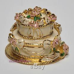 Estee Lauder Party Cake Compact Pour 1999 Collection Parfum Solide Toutes Les Boîtes