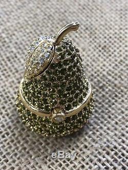 Estee Lauder Pear Solid Parfum Compact Beautiful 1996