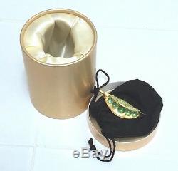 Estee Lauder Peas Dans Un Pod De Parfum Solide Compact Dans Un Cadeau De Cadeau De Noël Rare