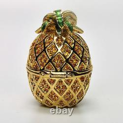 Estee Lauder Pineapple Glaze Compact Pour Parfum Solide 1997 Extrêmement Rare