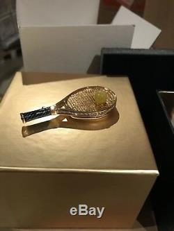 Estee Lauder Pleasures 2007 Jeu Ensemble Match Raquette De Tennis Solid Parfum Compact