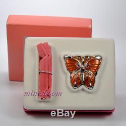 Estee Lauder Pleasures Butterfly Compact Parfum Neuf Dans L'emballage Rare