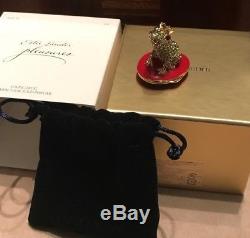 Estee Lauder Pleasures Loving Grenouille Compact Pour Parfum Solide Tout Neuf En Boîte