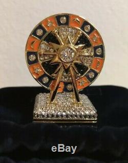 Estee Lauder Pleasures Royal Roulette Perfume Solide Compact Collectables 2019 Nib