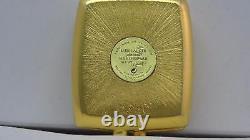 Estee Lauder Pleasures Solid Parfum Compact 0,12 Oz. Nouveau Non-boîté