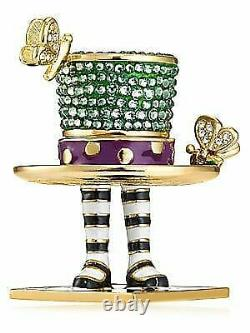 Estee Lauder Pleasures The Mad Hat Solid Compact Collectionable 2018 Nib