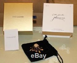 Estee Lauder Pleasures Tortue Endurance Compact Pour Parfum Solide Tout Neuf