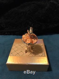 Estee Lauder Pleasures Tutu Compact Rose Pour Parfum Solide 1999 En Boîte